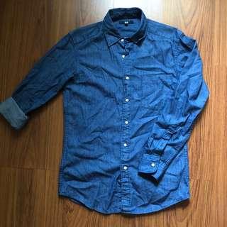 Uniqlo Button Down Denim Shirt