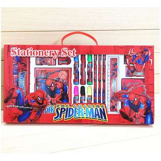 10 in 1 Set - Brand New Birthday Party Gift Set Spiderman Stationery Gift Box Set Primary school kindergarten children kids learning gifts Birthday party