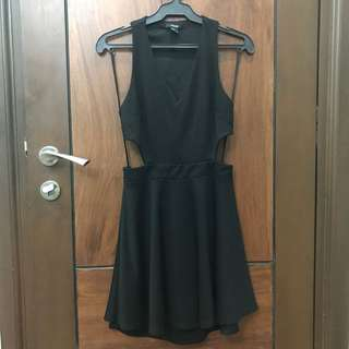Forever 21 sexy black dress