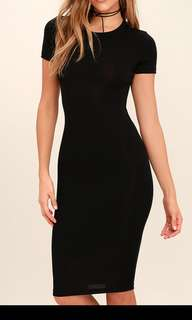 Sm woman bodycon midi dress