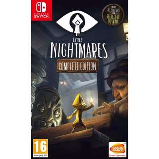 [NEW NOT USED] SWITCH Little Nightmares [Complete Edition] Nintendo Bandai Namco Action Games