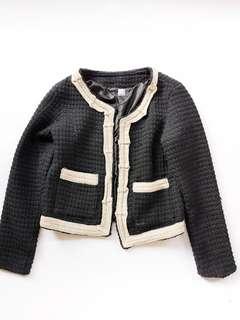 Soiree tweed black jacket