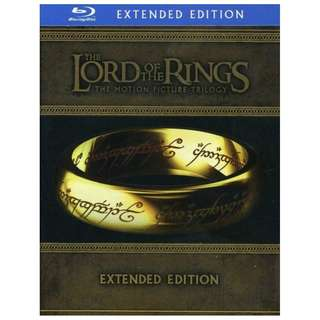 The Lord of the Rings The Motion Picture Trilogy Extended Editions Blu-ray