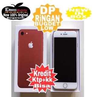 Iphone 7 RED Apple-128GB(REC)-Cash/kredit DP 2jt ditoko ktp+kk call/wa;081905288895