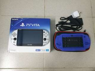 Ps Vita 2k henkaku + 32gb original memory card