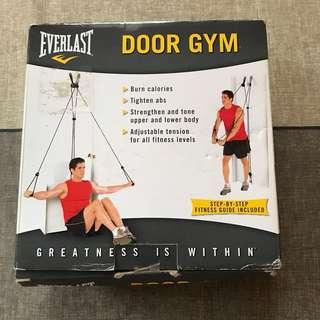 Door gym - resistance bands