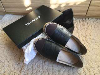 Chanel Espadrilles slip on shoes 漁夫鞋草鞋