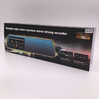 Starlight Full HD Mirror Dash Camera