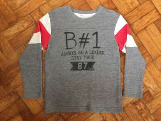 F&X LONG SLEEVES FOR BOYS SIZE6
