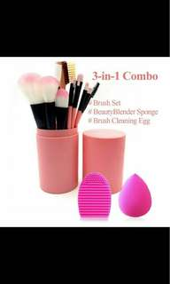 Makeup Brush and Blender