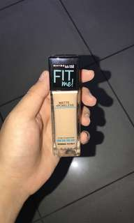 Maybeline fit me fondation shade 120 for normal to dry skin