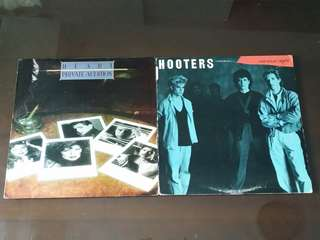 HEART ● HOOTERS . private audition / nervous night . Vinyl record
