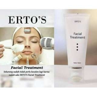 Ertos facial treatment 100ml original
