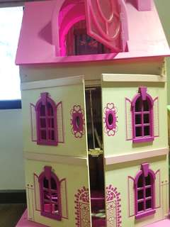 Preloved Wooden Dollhouse