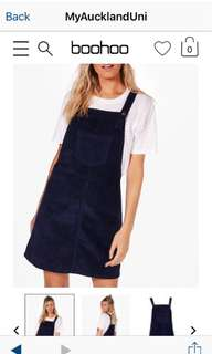Cute Navy Pinafore