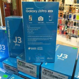 Brand new Samsung J3 pro