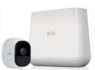 NETGEAR Arlo Pro 2 無線網絡攝影機連基座