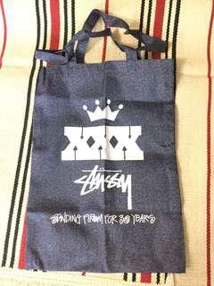 "Cool X Stussy   日雜誌 cool   特別附錄 禮品 "" Stussy "" Tote bag"