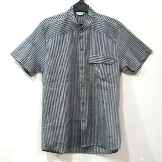 Nanoe Grey Stripes Shirt