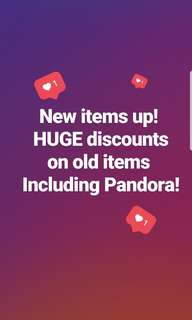 New items listed!!!