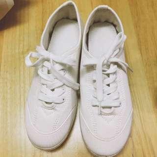 🚚 百搭 小白鞋 正韓 全新 25