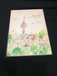 Travel journal / notebook from Seoul _new
