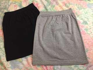 🚚 全新 兩色 棉質短裙 #五十元好物