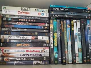 DVDs - Mostly Region 1 ( Horror, Drama, Romance, Comedy, SCI FI )