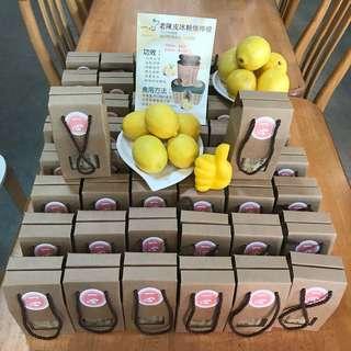 老陳皮冰糖燉檸檬