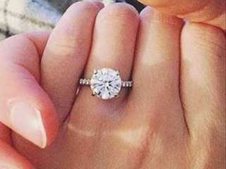 Diamond Engagement Ring with Certificate