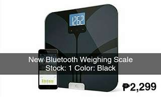 New Bluetooth Electronic Weighing Scale