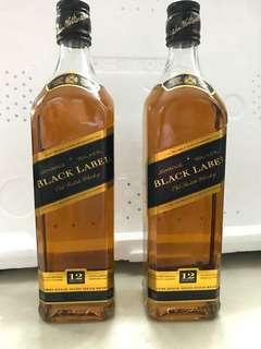 Johnnie Walker Black Label $420/ 2 bottle