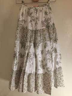 🚚 棉質花樣大圓裙 #一百元好物