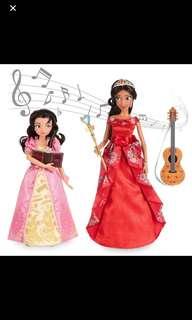 Disney store princess Elena and Isabel