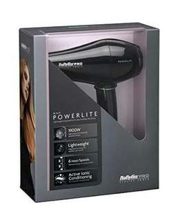JUAL RUGI hair dryer babyliss pro powerlite
