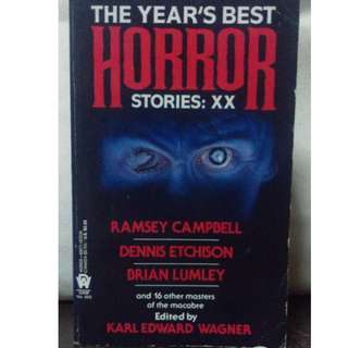 The Year's Best Horror Stories