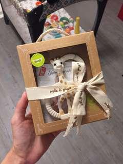 BNIP Sophie La Giraffe So Pure Teething Ring - Souple-Soft