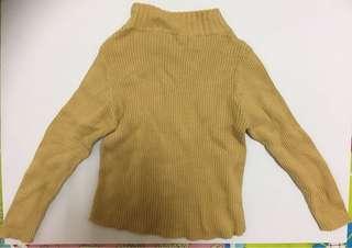 長袖套頭毛線上衣 7號