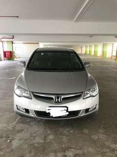 Honda civic fd 1.8 auto padleshift