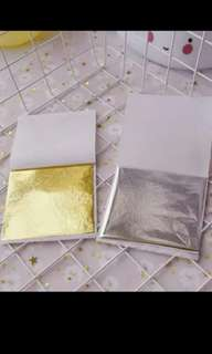 Gold Silver Foil for Craft/ Slime