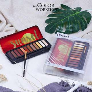The Color Workshop Eyeshadow Palettes