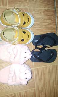 Assorted footwear take All for babies 6mos up to 16mos