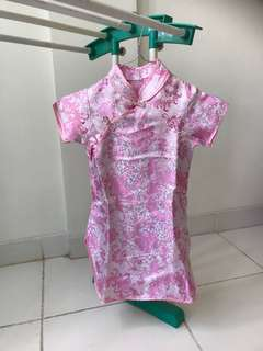 Dress sincia imlek anak
