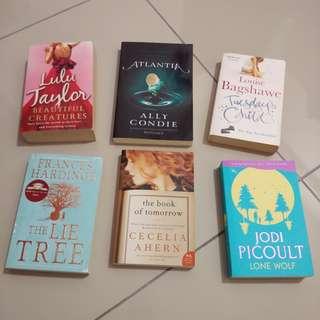 Secondhand english novels