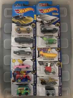 Hotwheels HW Screentime Die-cast Collection Set of 12