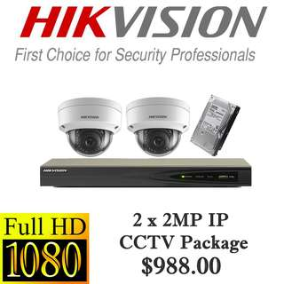 HIKvision 2MP IP CCTV Package 2