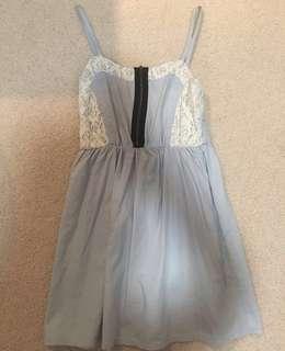 dainty blue dress