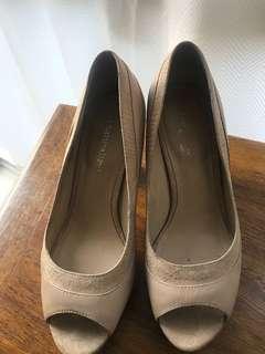 Naturalizer nude high heels