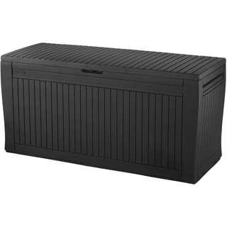 Keter Comfy 71-Gal Outdoor Storage Deck Box, Espresso Brown