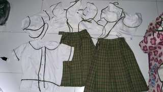Take all! 9pcs.school uniform's php.500